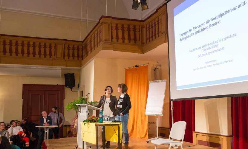 Katrin Heubach und Vaya Emmanouil