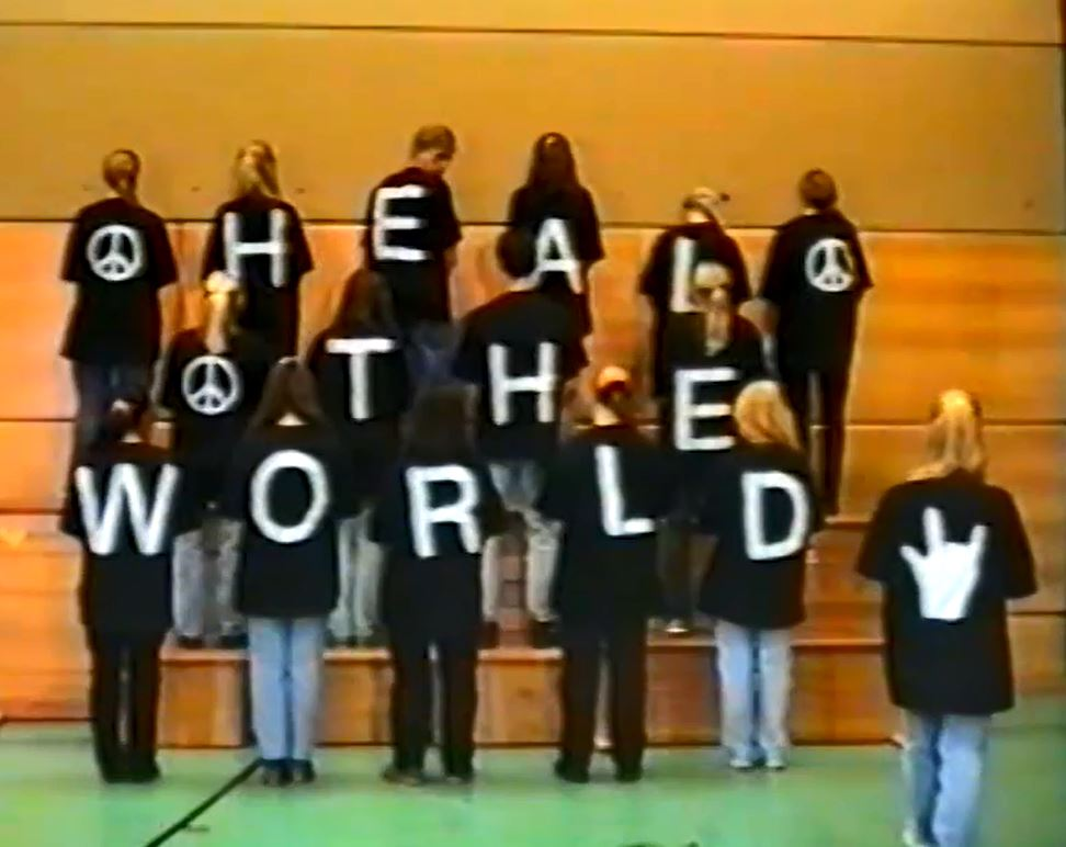 "Bild03 - Das ""Gebärdenlied - Heal the World"" nach Michael Jackson"