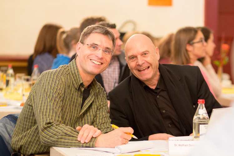 PD Dr. Thomas Mösler und Professor Christoph Leonhard