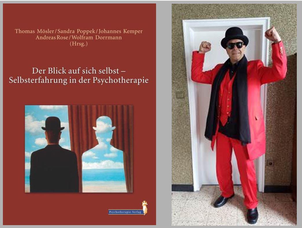 """Buchcover """"Der Blick auf sich selbst - Selbsterfahrung in der Psychotherapie"""""""