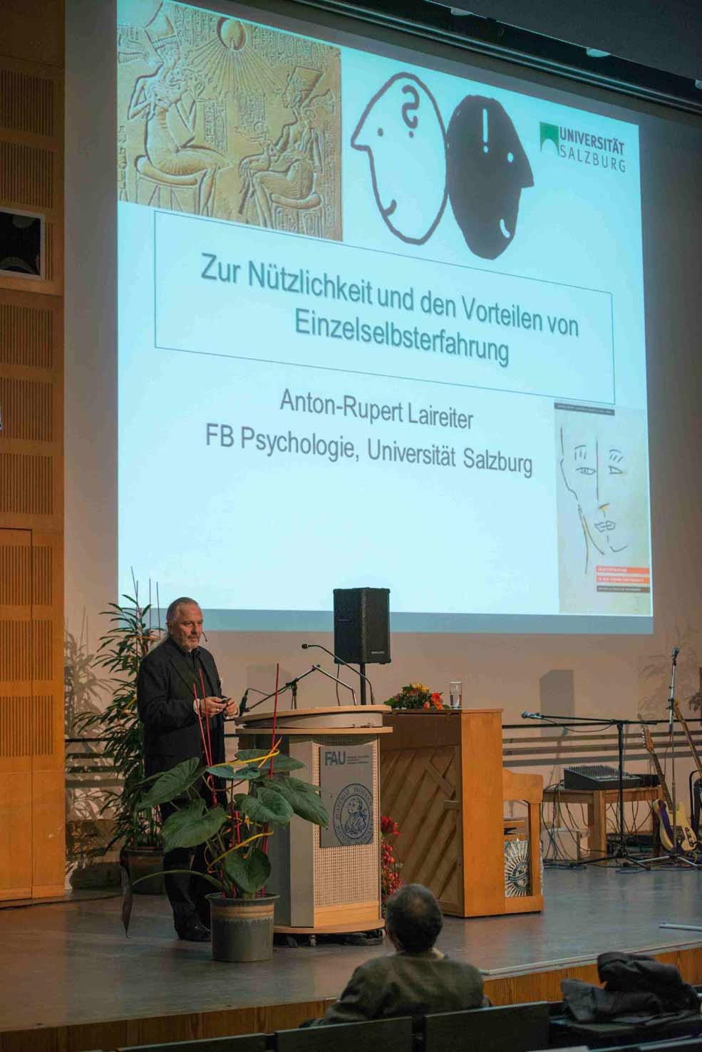 Ao.Univ.-Prof. Dr. Anton Laireiter, Salzburg