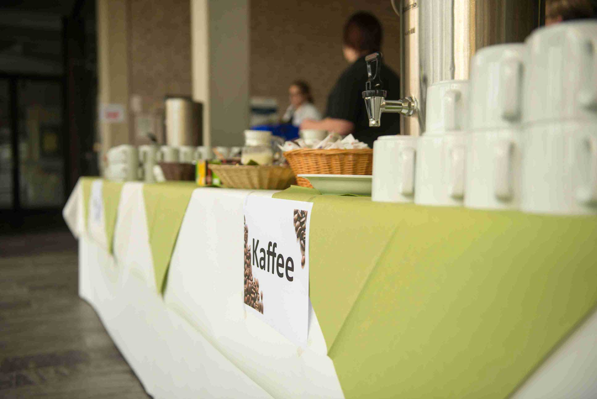 Fachtagung2014 Pause Kaffee