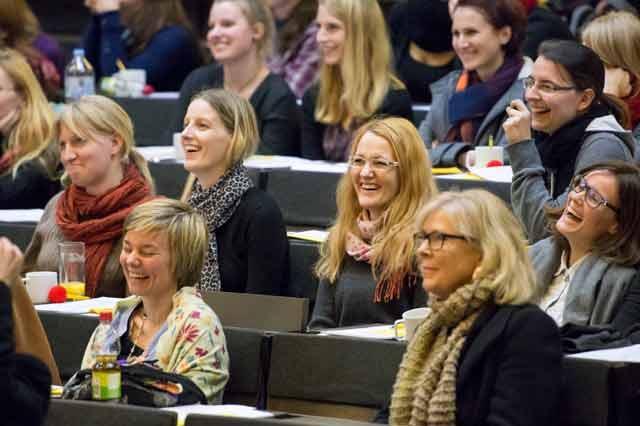 Fachtagung2014 Publikum lacht