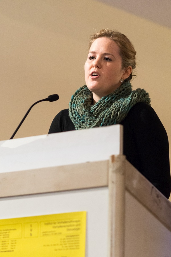 Ausbildungskandidatin am IVS Lisa Albrecht